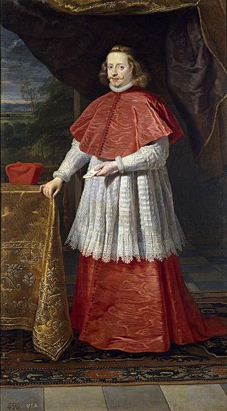 Cardinal-Infante Ferdinand of Austria - Portrait by Gaspar de Crayer, 1639