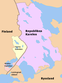 Karelen idag.