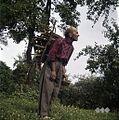 Karl Denovnik, Spodnji Dolič, nosi drva 1963.jpg