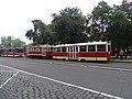 Karlovo náměstí, historická tramvajová souprava (05).jpg