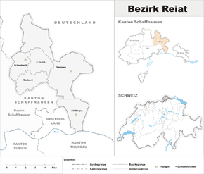 Map of Reiat District