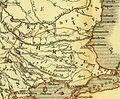Karte aus dem Buch Römische Provinzen von Theodor Mommsen 1921 16e.jpg