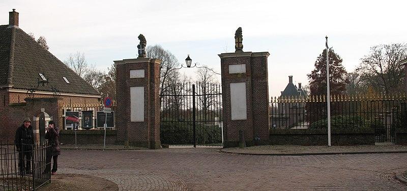 Muur in amerongen monument - Toren voor pergola ...