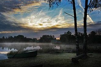 Võru County - Image: Kaunis telkimiskoht Haanjamaal