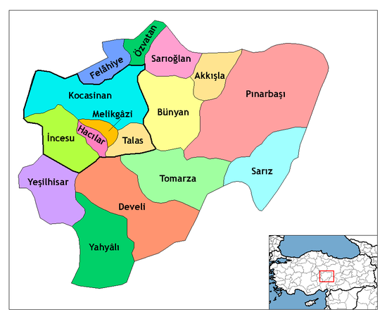 Kayseri districts.png