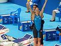 Kazan 2015 - Sarah Sjöström after 100m butterfly final (2).JPG