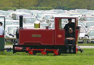 Blenheim Park Railway - Image: Keef Engine 94Winston