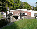 Keepers Lock and Bridge No 50 near Fradley, Staffordshire - geograph.org.uk - 1567859.jpg