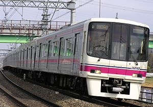Keio 8000 series - An eight-car set