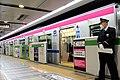 Keio 5000 series keio Liner Shinjuku station.jpg