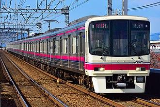 Keio Corporation - Image: Keio 8000 series keio line 20171113