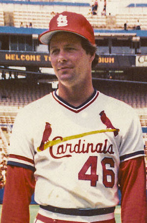 Ken Dayley - Dayley with the Cardinals.