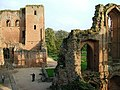 Kenilworth Castle from the top of the tower - geograph.org.uk - 1470265.jpg