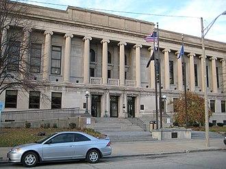 Kenosha County, Wisconsin - Image: Kenosha County Court House