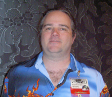 Murphy at Westercon in 2011