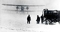 Keystone B-6 twin-engine airmail plane in snow storm, 1920.jpg