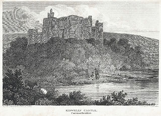 Kidwelly Castle, Caermarthenshire