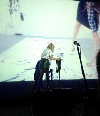 Kim Gordon - Gordon live with Body/Head at the Portland Institute for Contemporary Art's TBA Festival, Portland, Oregon, 2013