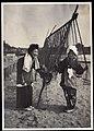 Kimono women with fishing nets in Japan (1915 by Elstner Hilton).jpg