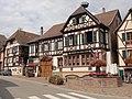 """Kintzheim n°54 rue du Général-de-Gaulle (Auberge """"Aux Deux Clés"""").jpg"""