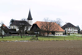 Grafenried village and church