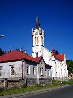 Novogotický kostel Proměnění Páně