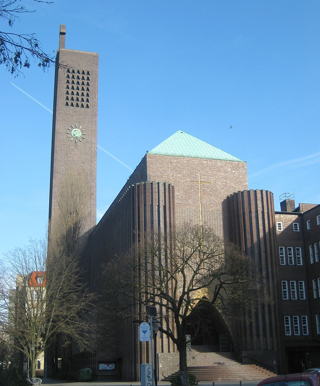 Kirche am Hohenzollernplatz, Berlin-Wilmersdorf