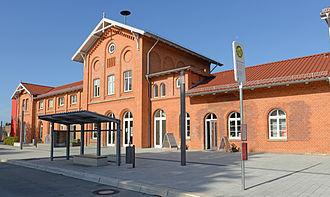 Kirchweyhe railway station - Kirchweyhe railway station