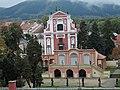 Klášterec nad Ohří, kostel Nejsvětější Trojice a salla terrena.JPG