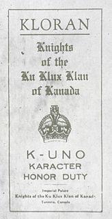 Ku Klux Klan titles and vocabulary