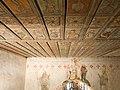 Kočí, kostel sv. Bartoloměje, strop, zblízka.jpg