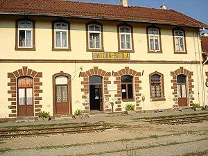Makedonski Železnici - The train station in Bitola