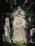 Kolozsvár Házsongárd old gravestone with skull.JPG