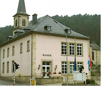 Kopstal - The town hall