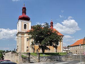 Mnichovo Hradiště - Image: Kostel sv. Jakuba Většího, Mnichovo Hradiště