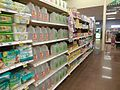 Kroger Shelves of Baby Water.JPG