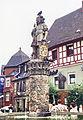 Kulmbach, Holzmarkt, Zinsfelderbrunnen, 23.07.1995.jpg