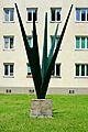Kunst am Bau Metallskulptur Wien 2.Engerthstraße 237b.jpg