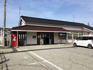 Kureha Station Railway station in Toyama, Toyama Prefecture, Japan