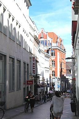 Hüxstraße in Lübeck