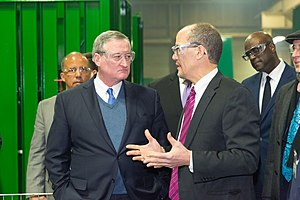 Jim Kenney - Jim Kenney (left) with then Secretary of Labor Tom Perez (right) in a Philadelphia factory