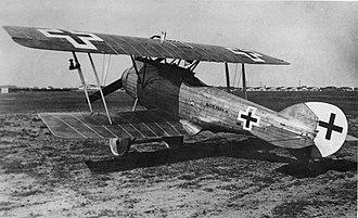 LFG Roland D.XV - LFG Roland D.XV first prototype