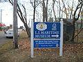 LI Maritime Museum; Entrance Sign.JPG
