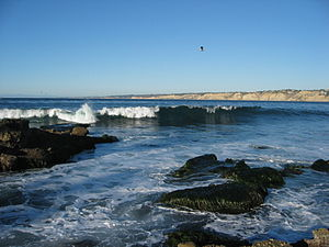 English: La Jolla, California; view from La Jo...