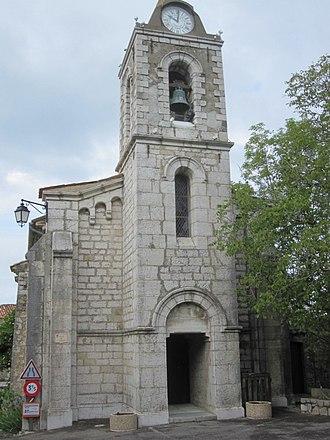 La Bastide, Var - The church of La Bastide