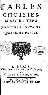 La Fontaine - Fables choisies, Barbin 1692, tome 4.djvu