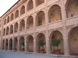 La Vieille Charité - The interior courtyard of la Vieille Charité