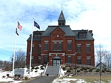 Laconia District Court on Academy Square in Laconia