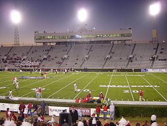 Ladd–Peebles Stadium - Looking west in 2003