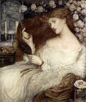 Henry Treffry Dunn - A version of Lady Lilith which is attributed to Dunn.